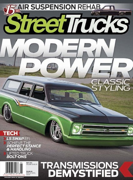 Street Trucks Cover - 5/1/2014