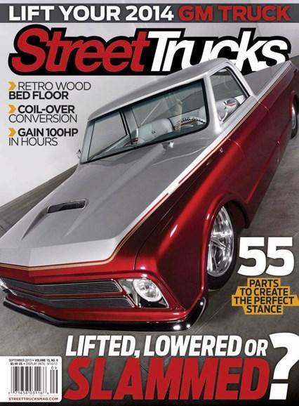 Street Trucks Cover - 9/1/2013