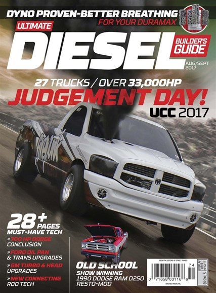 Ultimate Diesel Builder's Guide Cover - 8/1/2017