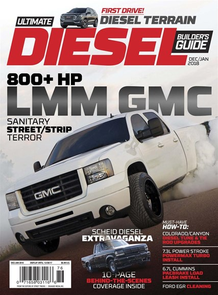 Ultimate Diesel Builder's Guide Cover - 12/1/2017