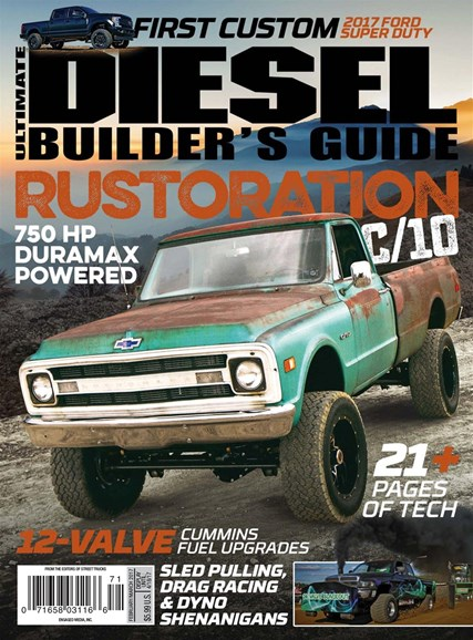 Ultimate Diesel Builder's Guide Cover - 2/1/2017