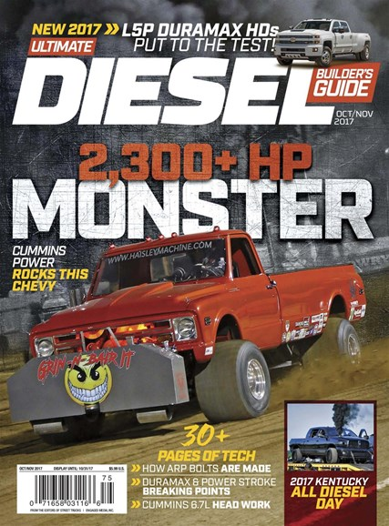 Ultimate Diesel Builder's Guide Cover - 10/1/2017