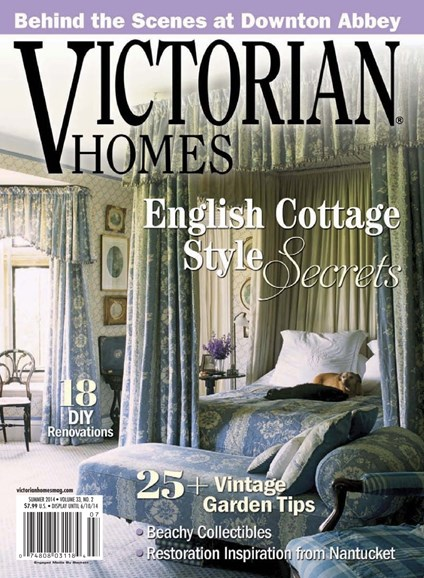Victorian Homes Cover - 6/1/2014