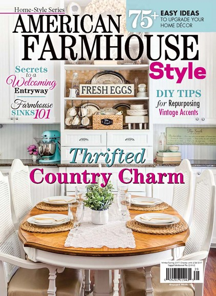 American Farmhouse Style Cover - 12/1/2016