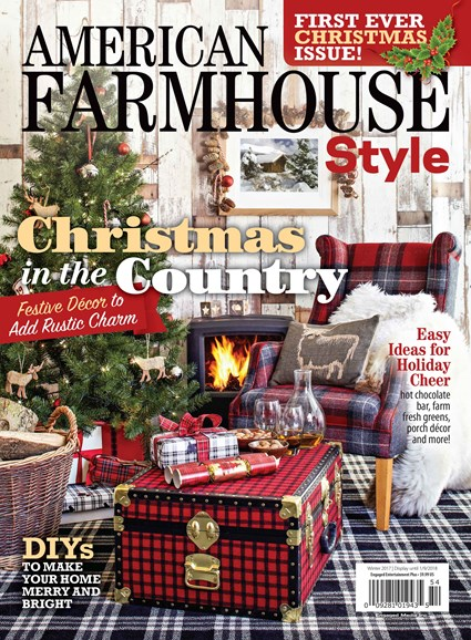 American Farmhouse Style Cover - 12/1/2017