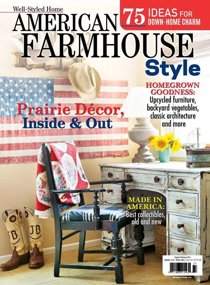 American Farmhouse Style Cover - 6/1/2016