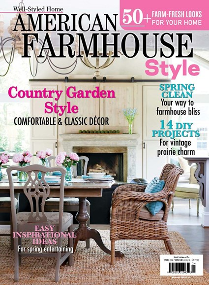 American Farmhouse Style Cover - 3/1/2016