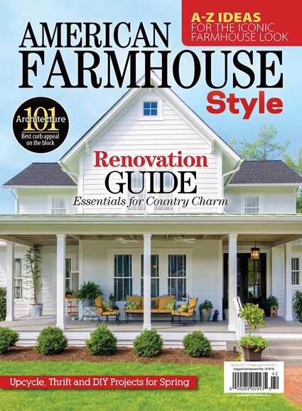 American Farmhouse Style Cover - 3/1/2017