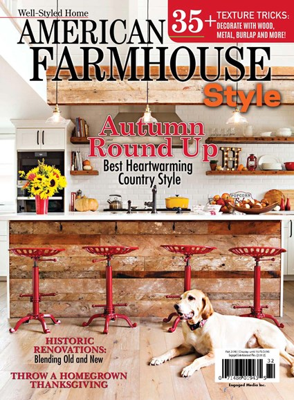 American Farmhouse Style Cover - 9/1/2016