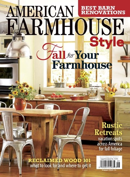 American Farmhouse Style Cover - 9/1/2017