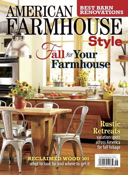 American Farmhouse Style Cover - 9/1/2017