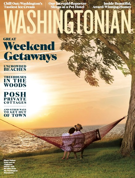 Washingtonian Cover - 8/1/2017