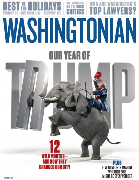Washingtonian Cover - 12/1/2017