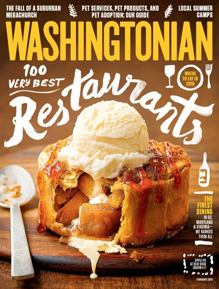 Washingtonian Cover - 2/1/2017