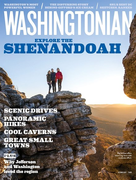 Washingtonian Cover - 10/1/2017