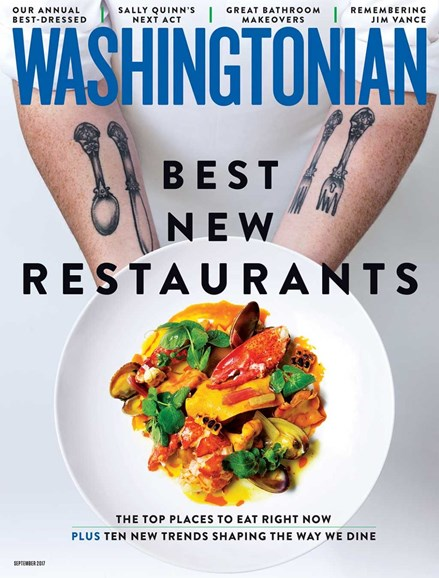 Washingtonian Cover - 9/1/2017