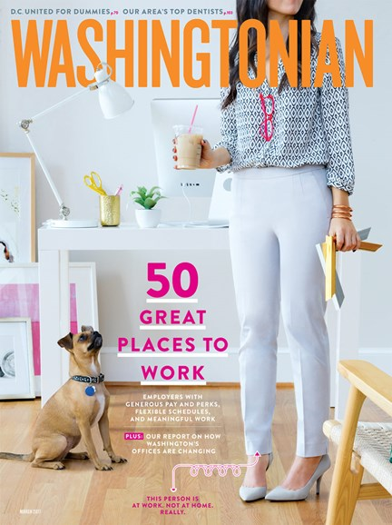 Washingtonian Cover - 3/1/2017