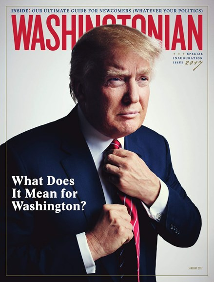 Washingtonian Cover - 1/1/2017