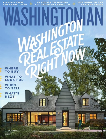 Washingtonian Cover - 4/1/2017
