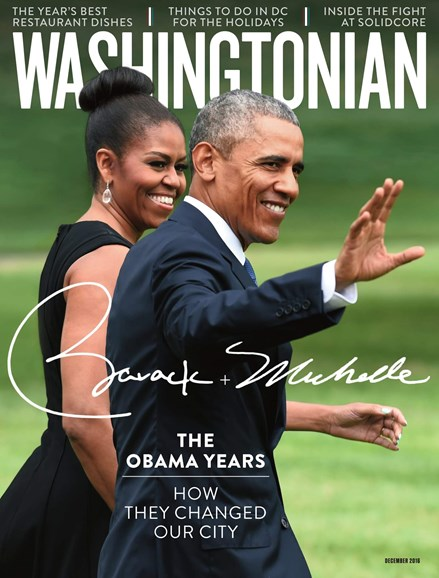 Washingtonian Cover - 12/1/2016