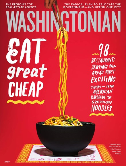 Washingtonian Cover - 7/1/2017