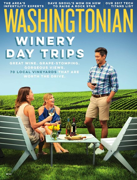 Washingtonian Cover - 5/1/2017
