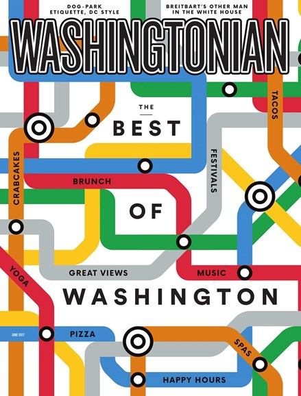 Washingtonian Cover - 6/1/2017