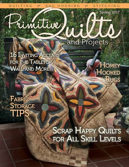 Primitive Quilts & Projects Cover - 3/1/2017