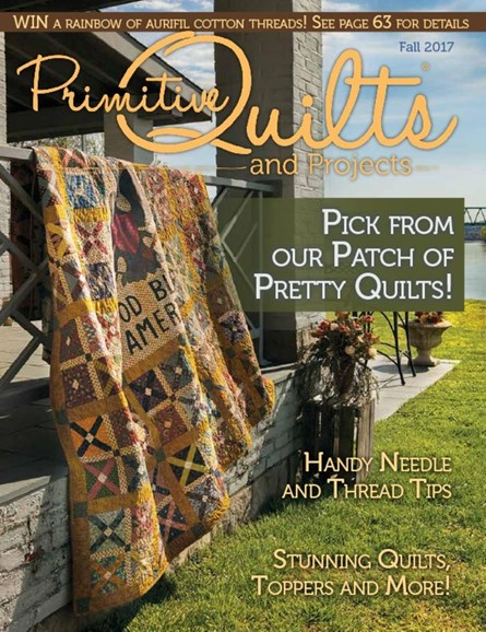 Primitive Quilts & Projects Cover - 9/1/2017