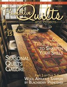 Primitive Quilts and Projects 9/1/2016