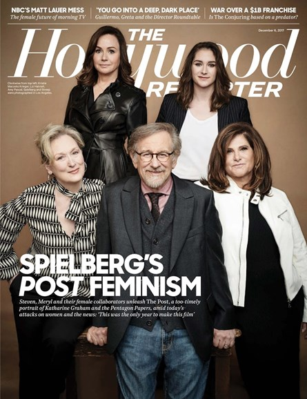 The Hollywood Reporter Cover - 12/6/2017