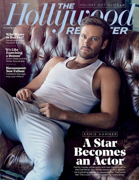 The Hollywood Reporter Cover - 11/20/2017