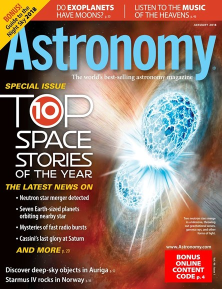 Astronomy Cover - 1/1/2018