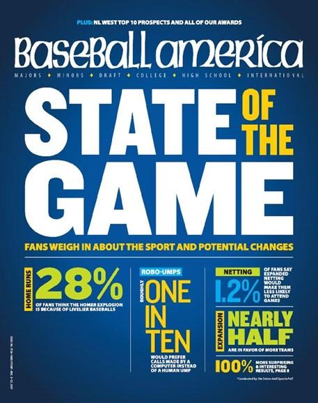 Baseball America Cover - 12/8/2017