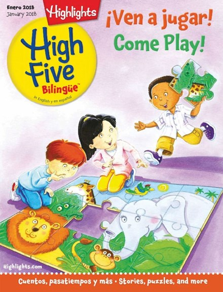 Highlights High Five Bilingue Cover - 1/1/2018