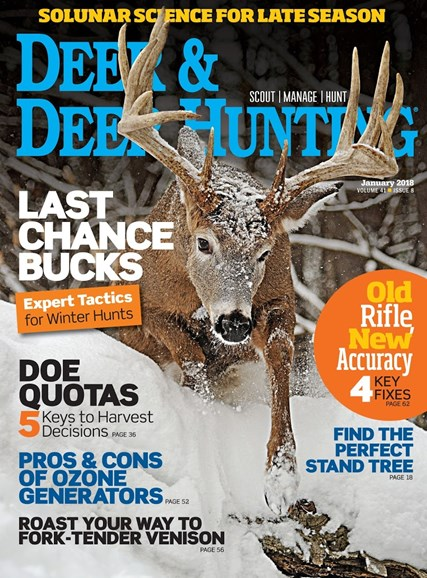Deer & Deer Hunting Cover - 1/1/2018