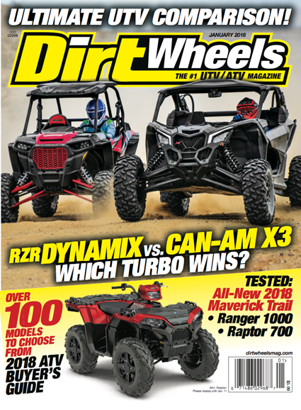 Dirt Wheels Cover - 1/1/2018