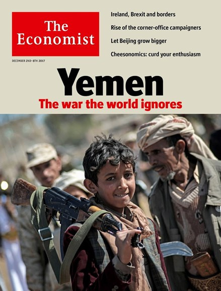The Economist Cover - 12/2/2017