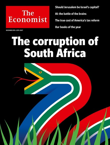 The Economist Cover - 12/9/2017