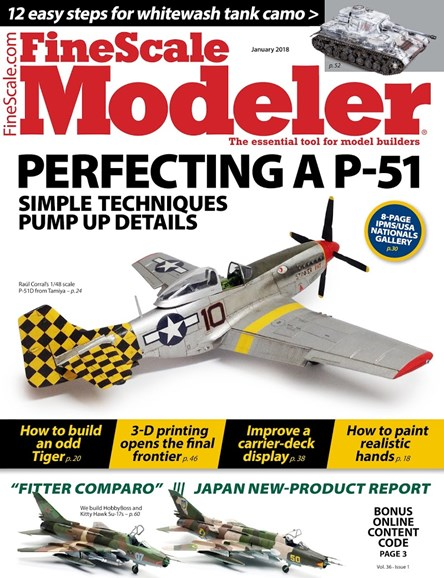 Finescale Modeler Cover - 1/1/2018