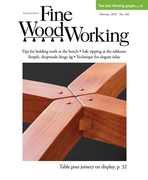 Fine Woodworking Cover - 1/2/2018