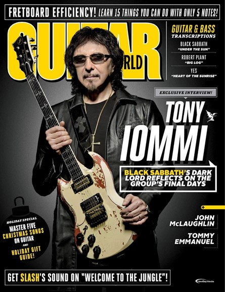 Guitar World Cover - 1/1/2018