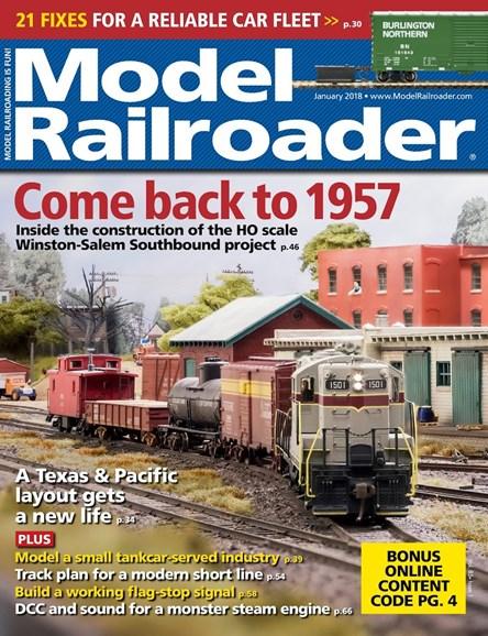 Model Railroader Cover - 1/1/2018