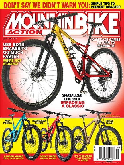 Mountain Bike Action Cover - 1/1/2018