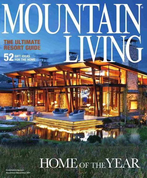 Mountain Living Cover - 11/1/2017