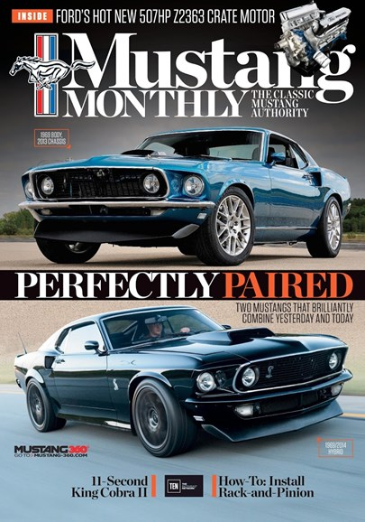 Mustang Monthly Cover - 1/1/2018