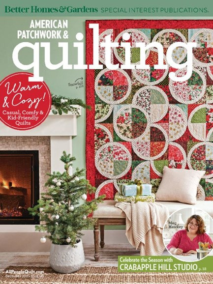 American Patchwork & Quilting Cover - 12/1/2017