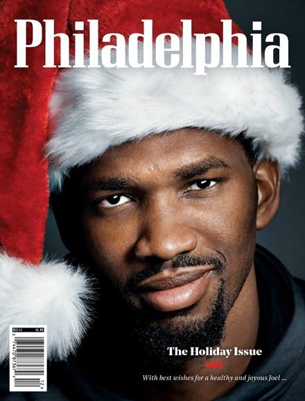 Philadelphia Magazine Cover - 12/1/2017