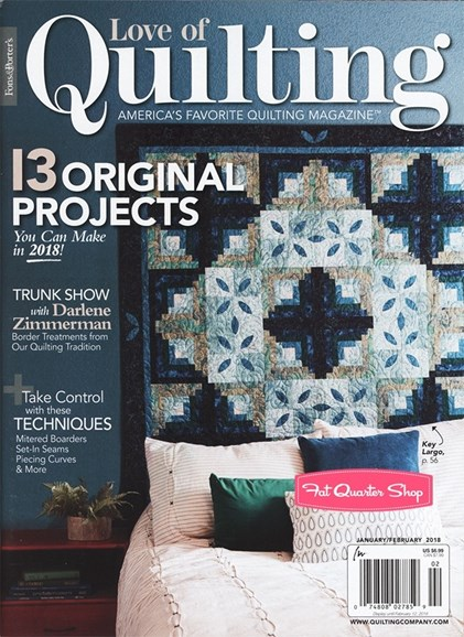 Fons & Porter's Love of Quilting Cover - 1/1/2018