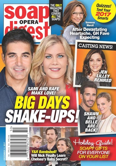 Soap Opera Digest Cover - 12/11/2017